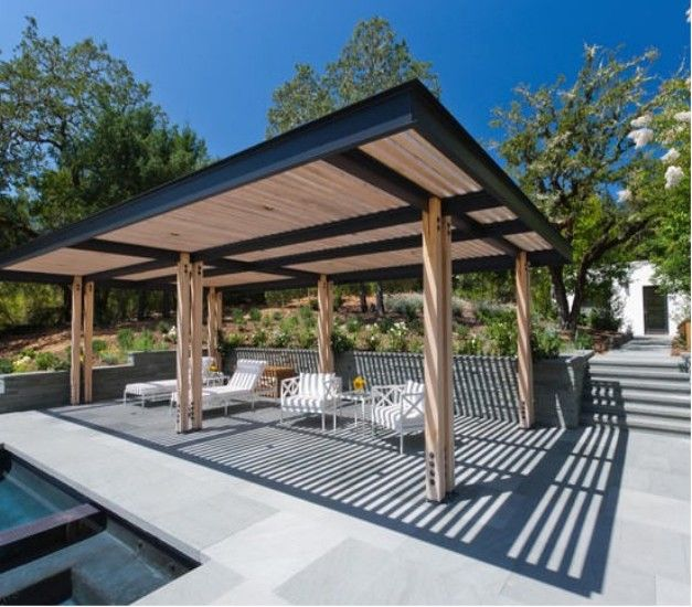Luxury Steel Pergolas Ideas And Designs steel pergola designs