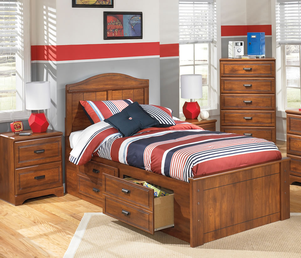 Luxury Twin Size Storage Bed ... twin bed with storage for kids