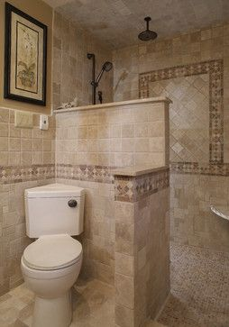 Luxury walk in showers without doors | Walk in Shower - mediterranean - walk in showers without doors