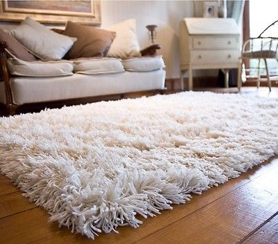 Master Bedding · Woolen Shag Shaggy Area Rug ... soft plush area rugs
