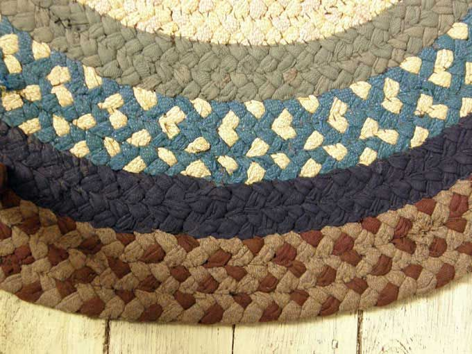Master Braiding rugs became close to an art form, and going above the skills diy braided rug