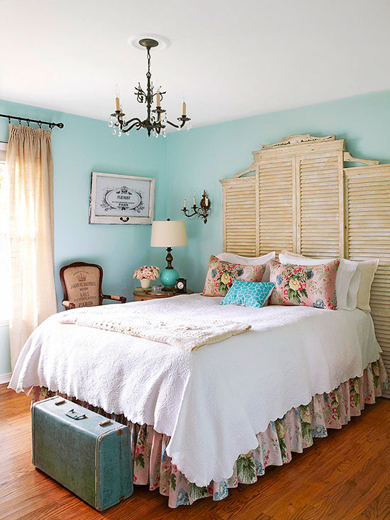 Master Go Authentic vintage bedroom decorating ideas
