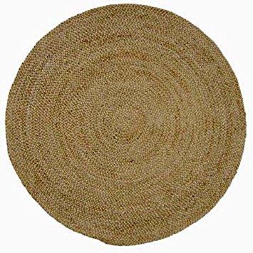 Master Jute Natural Rug Rug Size: Round 6u0027 round jute rug