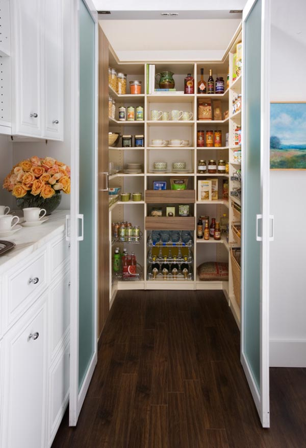 Master Kitchen Pantry Ideas Walk In Pantries For