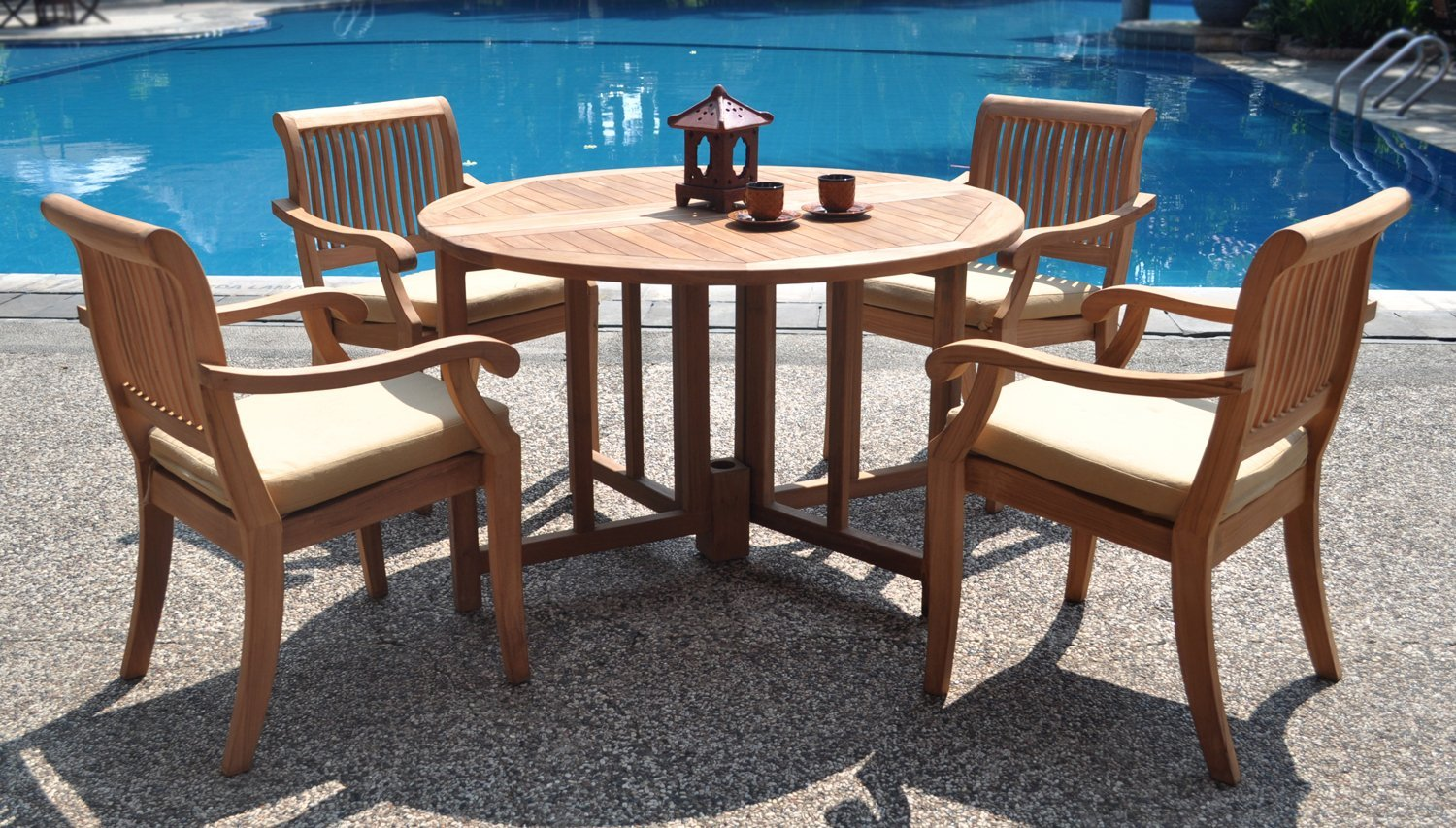 Master Should You Treat Teak Patio Furniture With Teak Oil? ... teak wood outdoor furniture