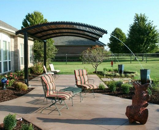 Master Steel Shade Pergolas provide a shade covering for your patio or outdoor steel pergola designs