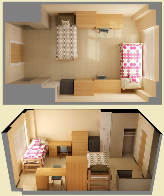 Modern 15+ best ideas about Dorm Room Layouts on Pinterest | College dorms, Dorms dorm room furniture arrangement ideas
