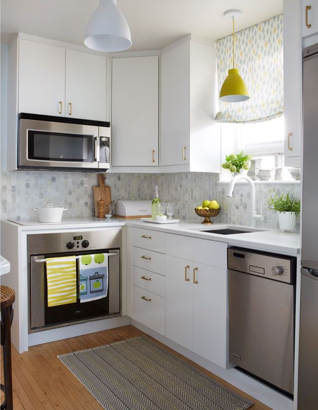 Modern 20 Small Kitchens That Prove Size Doesnu0027t Matter very small kitchen design ideas