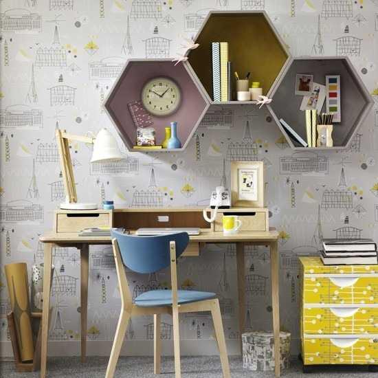 Modern 30 Modern Home Office Decor Ideas In Vintage Style vintage style home decor