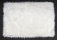 Modern 3x5 Rug Shaggy Fluffy Flokati SHAG Solid White 3 inch Thick 3u00273u0027x4 white fluffy carpet