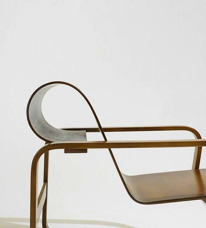 Modern Alvar Aalto - Paimio lounge chair, Artek Finland, 1932 / c. Wright scandinavian design furniture