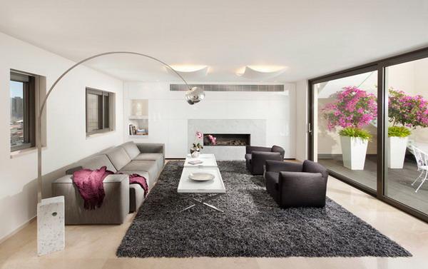 Elegant Cute Modern Area Rugs For Living Room Huge Home