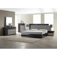 Chic QUICK VIEW modern contemporary bedroom furniture