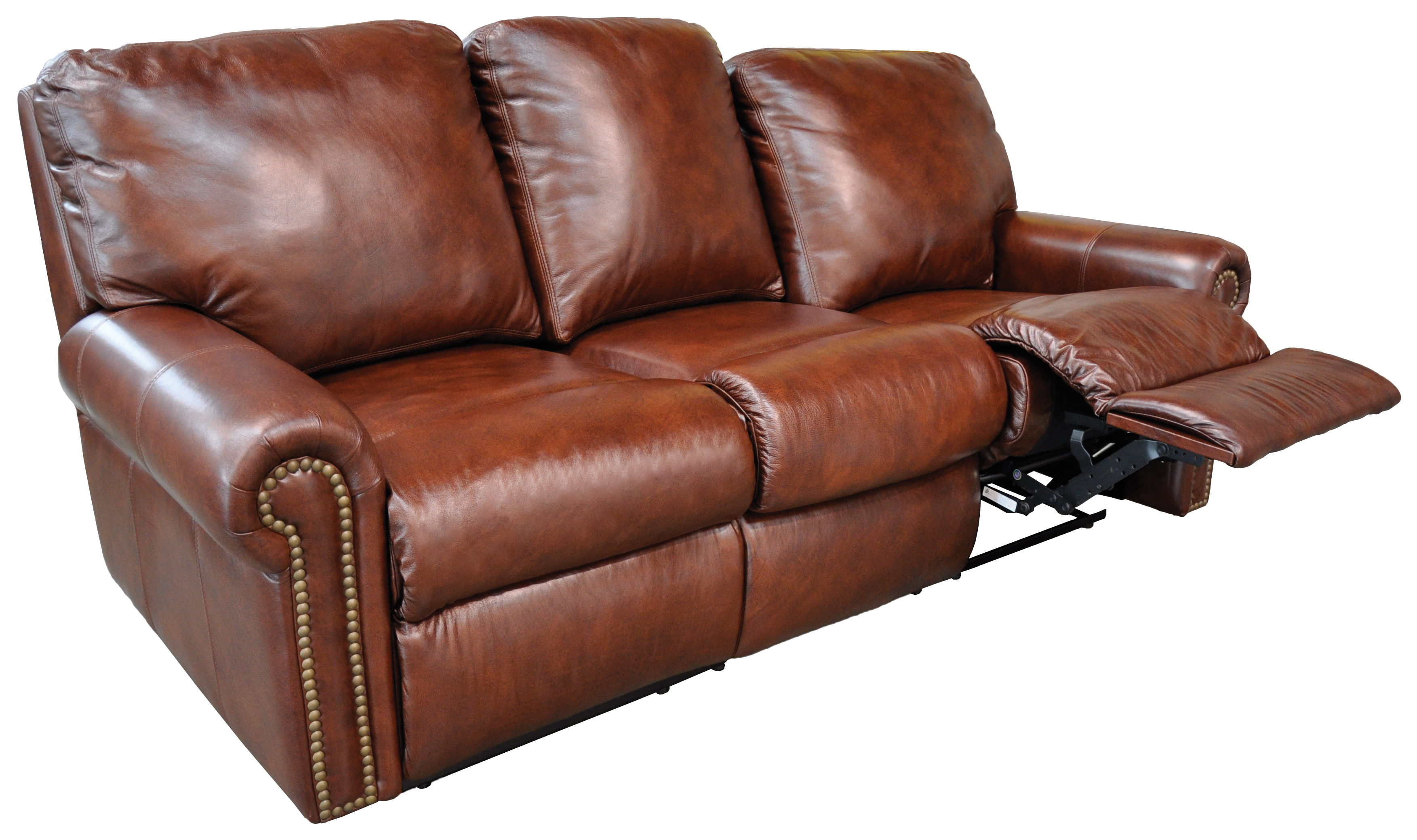 Modern Fairmont Reclining Furniture reclining leather sofa
