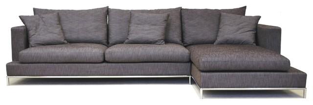 Beautiful grey-sectional-sofa-5 modern gray sectional sofa