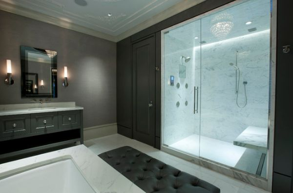 Modern Home Decorating Trends - Homedit bathrooms with walk in showers