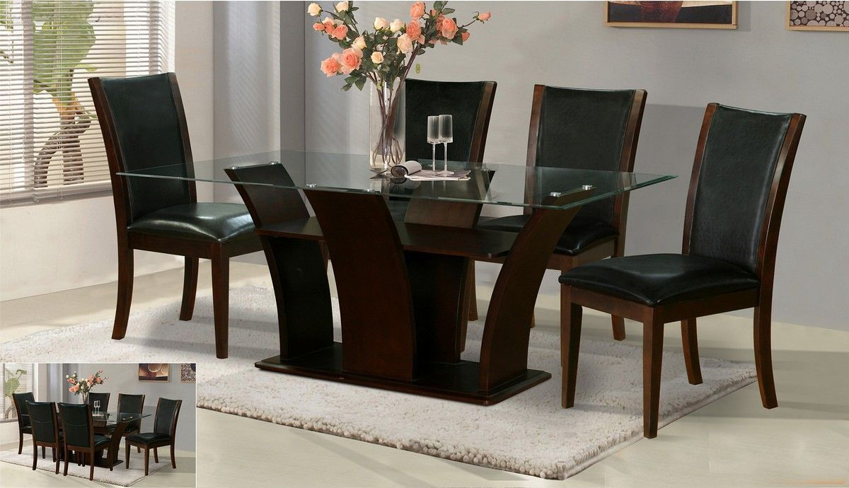 Modern Magnificent Modern Dining Table Designs With Glass Top - IRPMI latest dining table designs with glass top