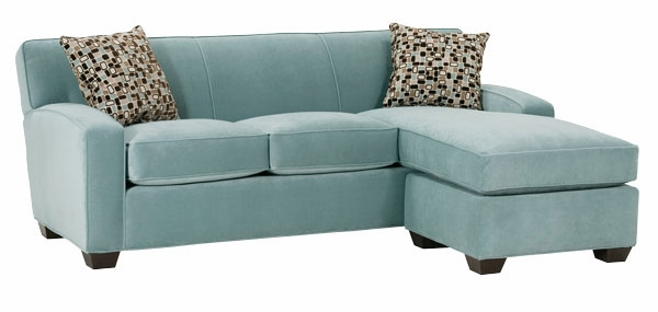 Modern Michelle  small sectional sleeper sofa
