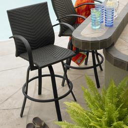 Modern Patio Bar Stools outdoor bar furniture sets