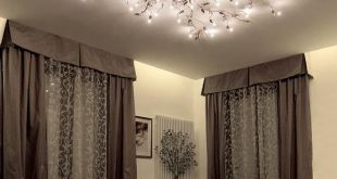 Modern Portable Fixtures: Ceiling: This light provides a lot of general lighting, bedroom ceiling lights