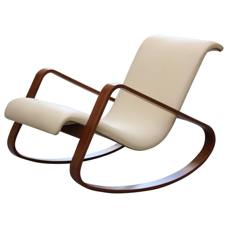 Best Italy Giuseppe Pagano Bentwood Leather Rocker. Easy ChairsSide ChairsLounge ChairsModern  Rocking modern rocking chair