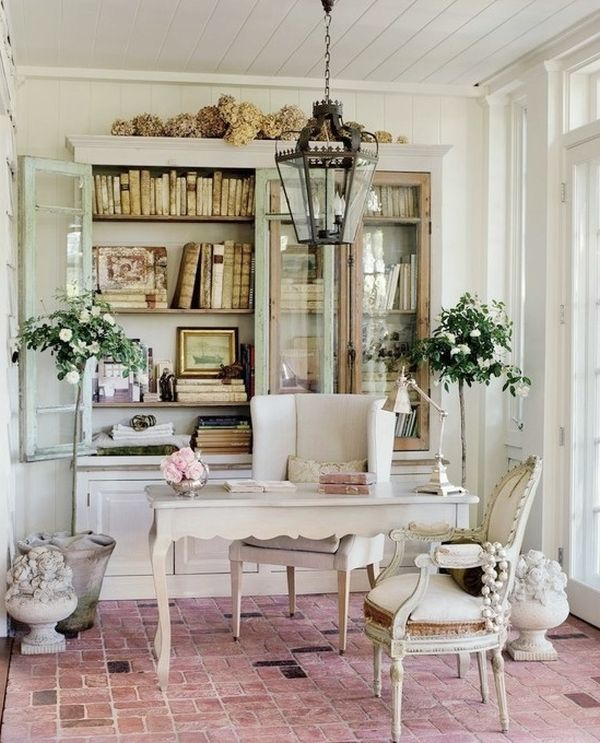 Modern Shabby Chic Home Office. shabby chic home decor