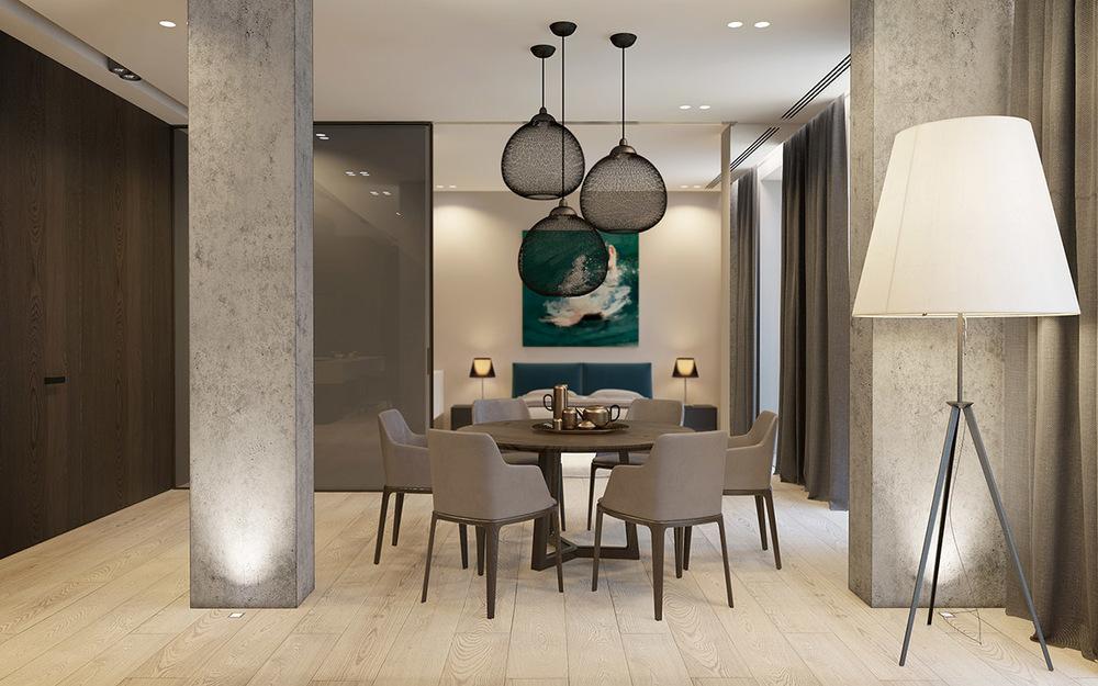 Modern simple-dining-room-design   Interior Design Ideas. simple dining room design