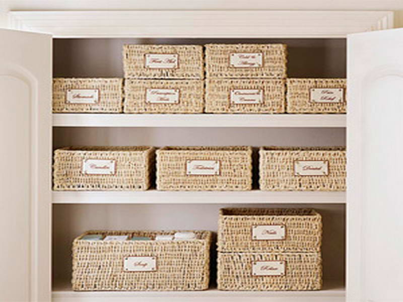 Modern Storage Baskets For Shelves With Minimized Design storage baskets for shelves