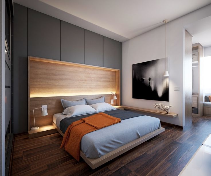 Modern Stunning Bedroom Lighting Design Which Makes Effect Floating Of The Bed bedroom lighting ideas