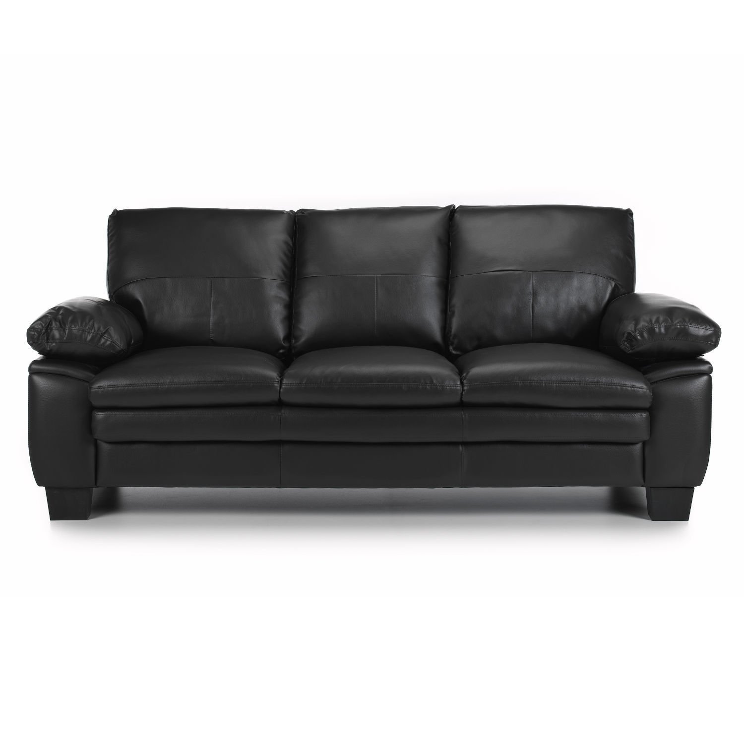 Modern Texas 3 Seater Leather Sofa Sticker 3 seater leather sofa