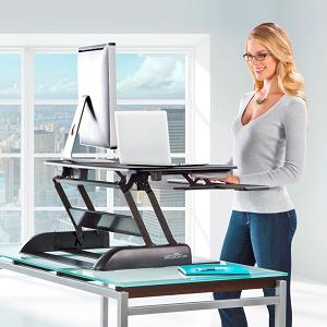 Modern Top 5 Best Standing Desk Converters sit stand desk converter