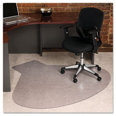 New ... 66x60 Workstation Chair Mat, Professional Series AnchorBar for Carpet  up to small desk chair mats for carpet