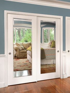 New How about this kind of mirror on the bedroom sliding closet doors? The mirror closet sliding doors