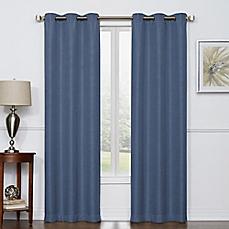 New image of Camryn Room Darkening Grommet Top Window Curtain Panel Pair window curtain panels