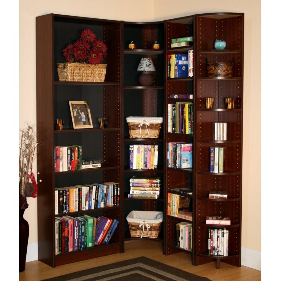 New modern corner bookshelf modern corner bookshelf
