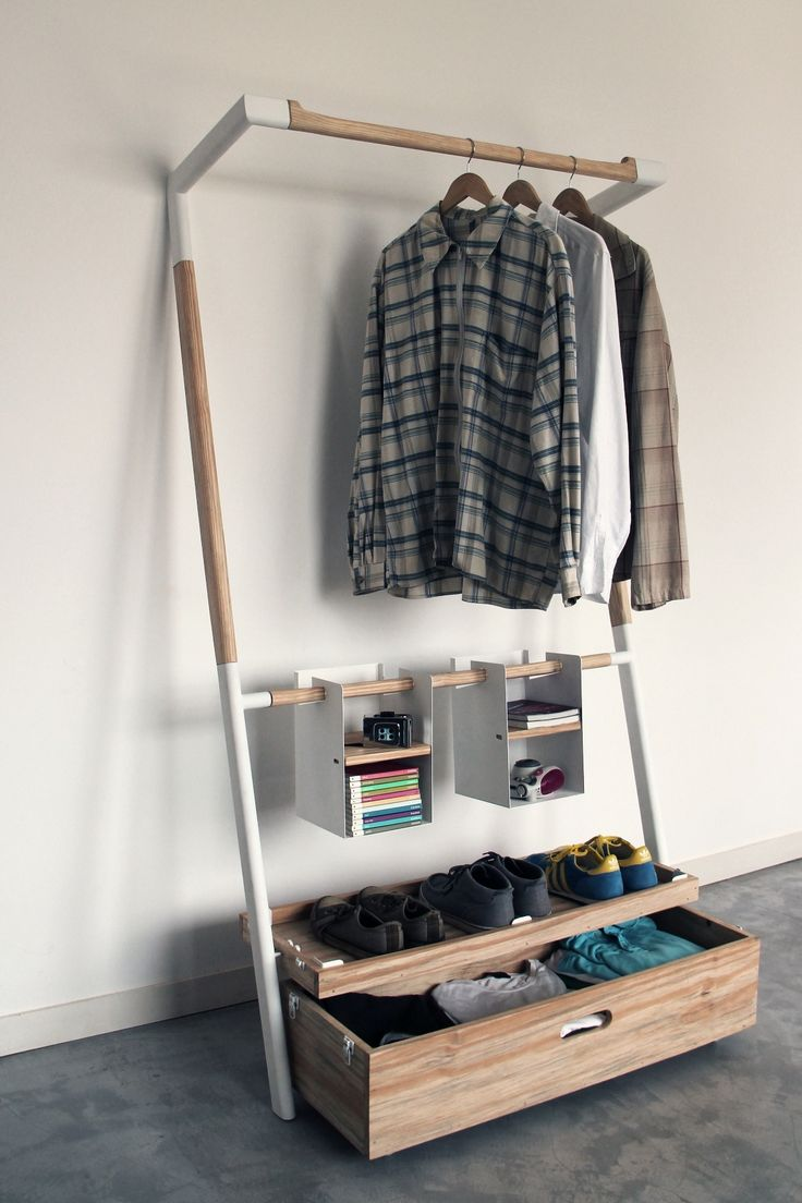 New View in gallery Innovative storage unit perfect for wardrobe storage open wardrobe storage
