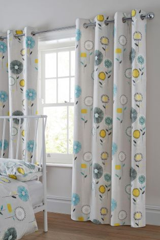 Beautiful Buy Retro Floral Grey Eyelet Curtains online today at Next: New Zealand next retro floral curtains