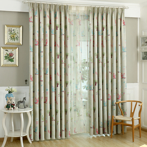 Cozy Nursery black out curtains Appropriate for Kids Bedrooms nursery blackout curtains