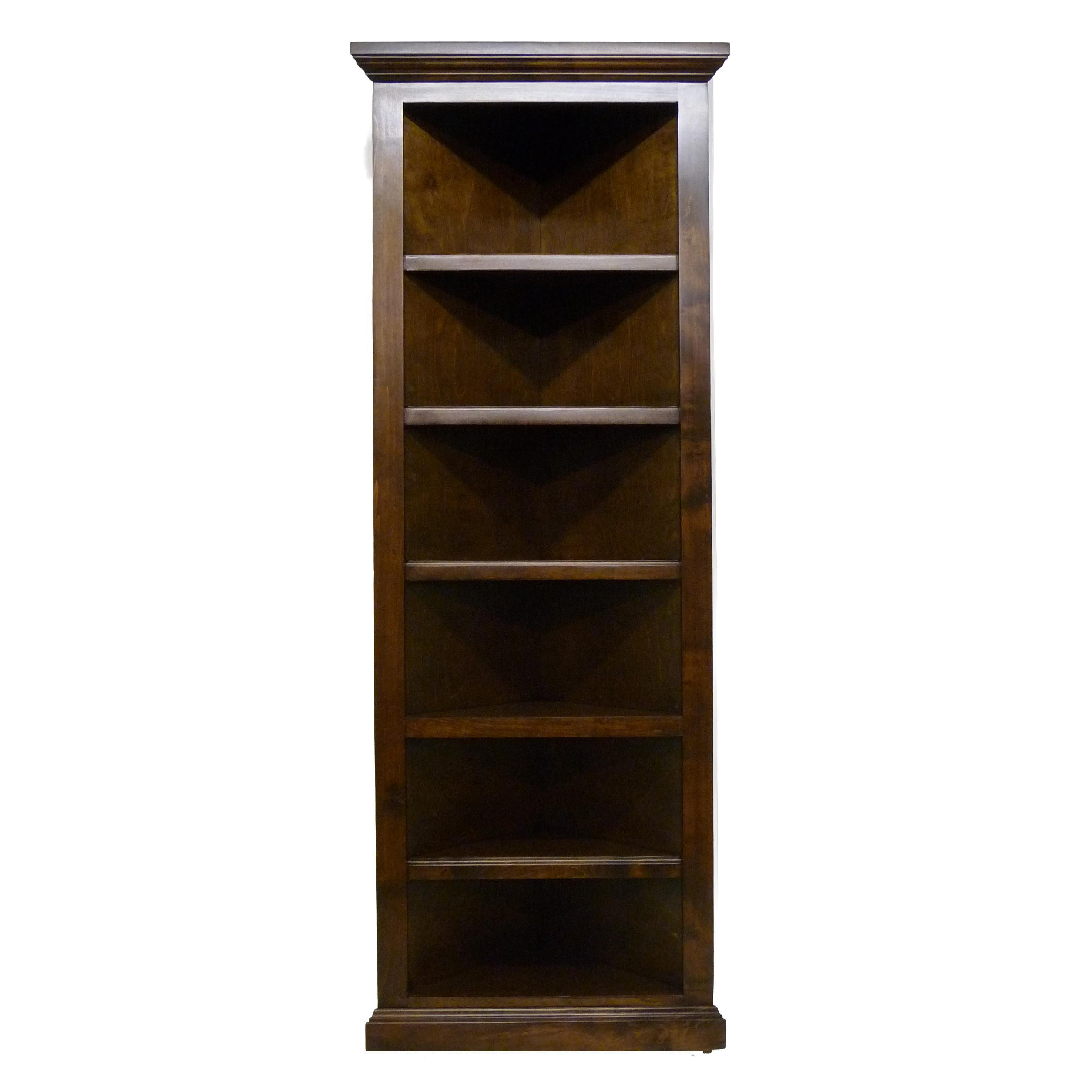 Popular QUICK VIEW. 72 oak corner bookcase