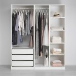 Change the look of your bedroom with the great concept of open wardrobe