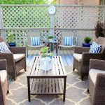 Give an exotic look to your veranda with outdoor rugs for patios