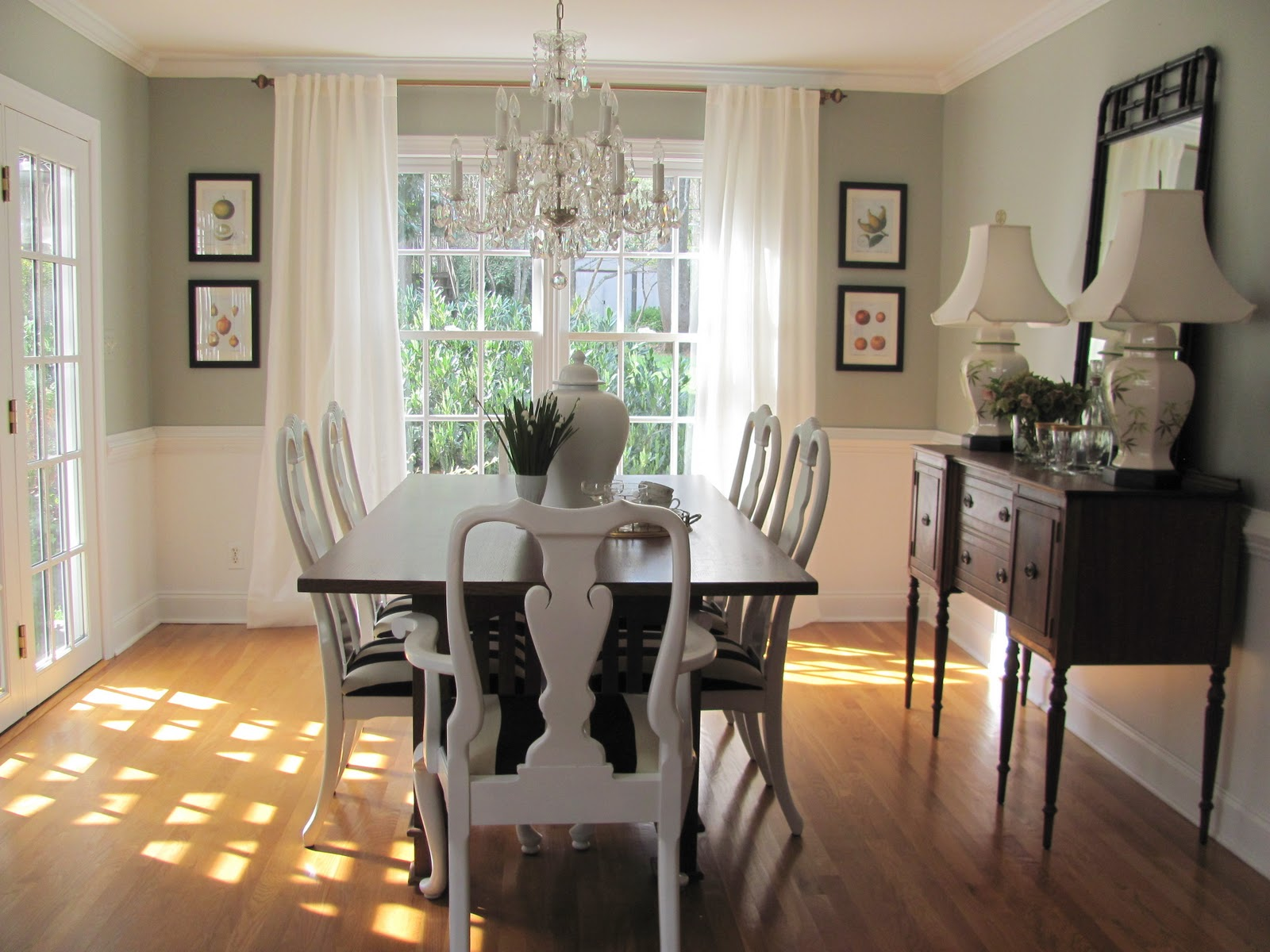 Best dining room paint colors with chair rail - Google Search paint colors small dining room