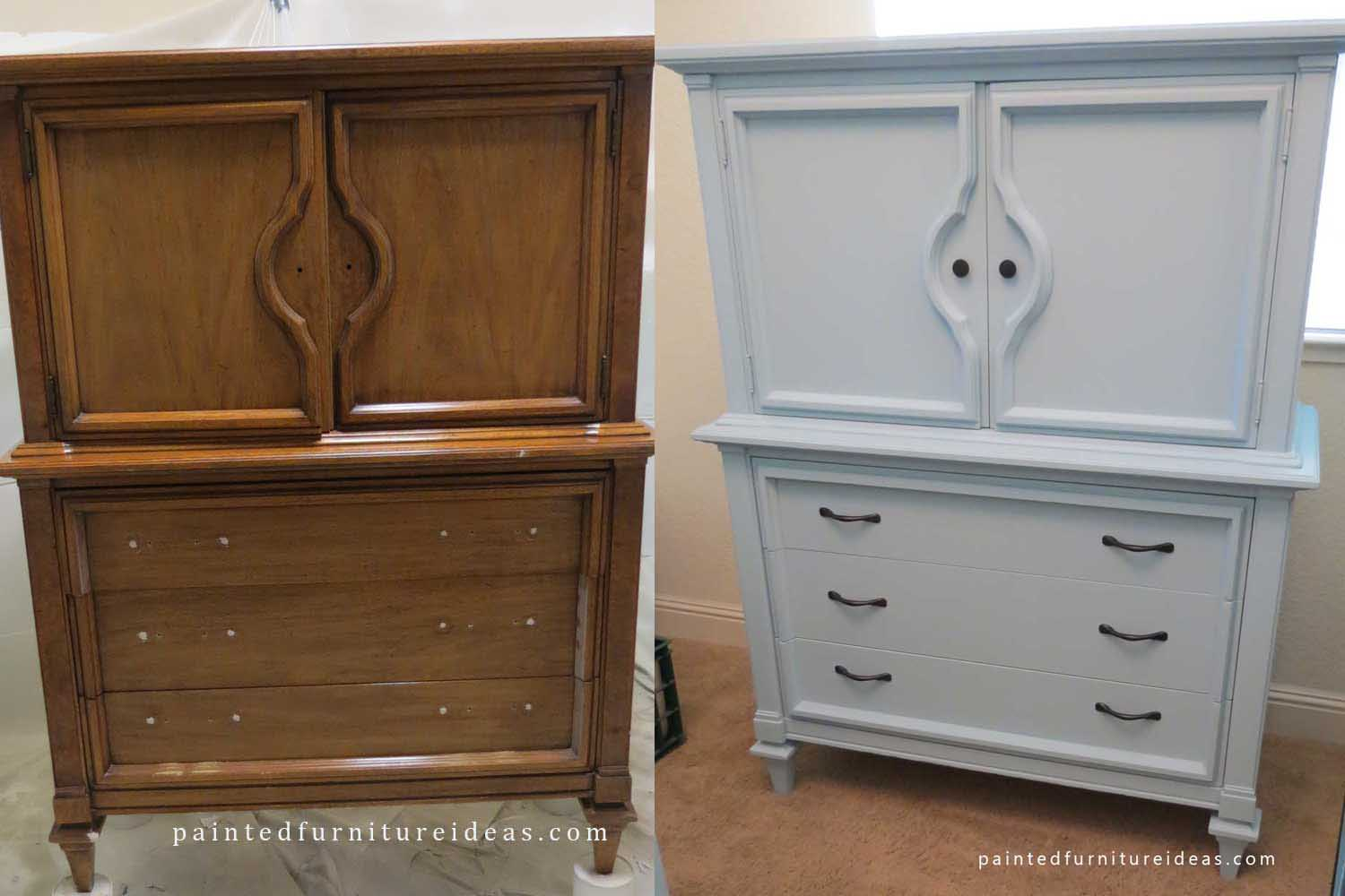 Images of 60u0027s Armoire Before and After - Painted Furniture Ideas painted furniture ideas before and after