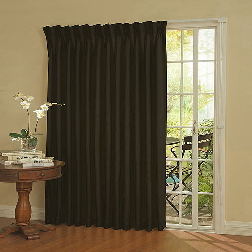 Luxury Eclipse Thermal Blackout Patio Door Curtain Panel patio door blackout curtains