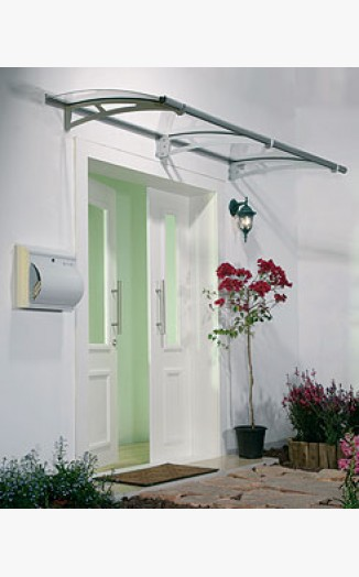 Contemporary Aquila Canopy 2050 patio door canopy