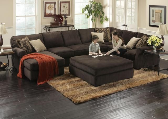 Photos of 25+ best ideas about Large Sectional Sofa on Pinterest   Large sectional, large sectional sofas