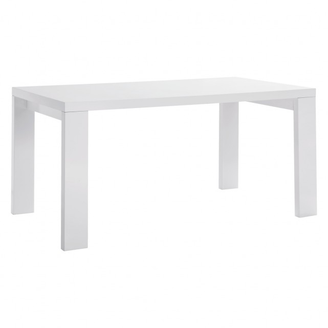 Photos of ASPER 6 seat white high gloss dining table white gloss dining table