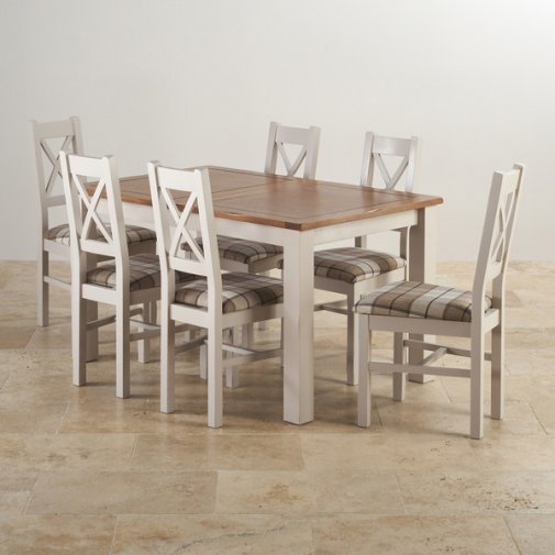Photos of Best Dining Sets Combine And Save Oak Furniture Land Inside Extendable extending dining table and chairs