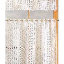 Photos of Cafe Curtains Crochet Yarn Kit- canu0027t get easier than to buy a kit crochet kitchen curtains