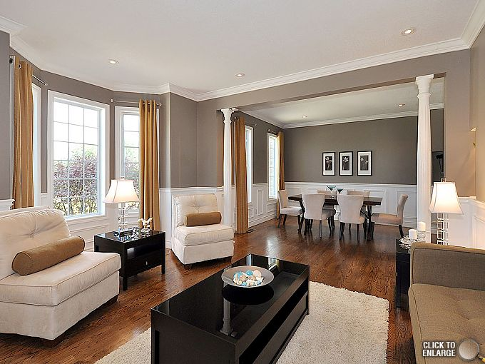 Photos of Luxury Home SOLD in Five Days! Living Room Paint ColorsTaupe ... living room dining room paint colors